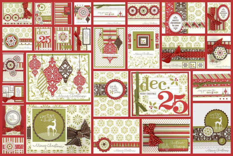 Christmas Stamp-a-Stack 2009