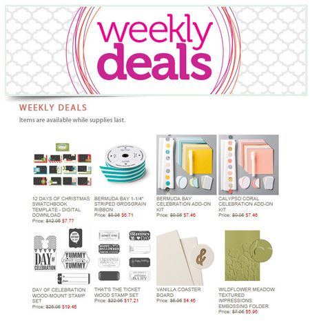 Weekly Deals through12.8