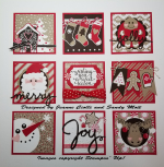 Candy Cane Sampler WM
